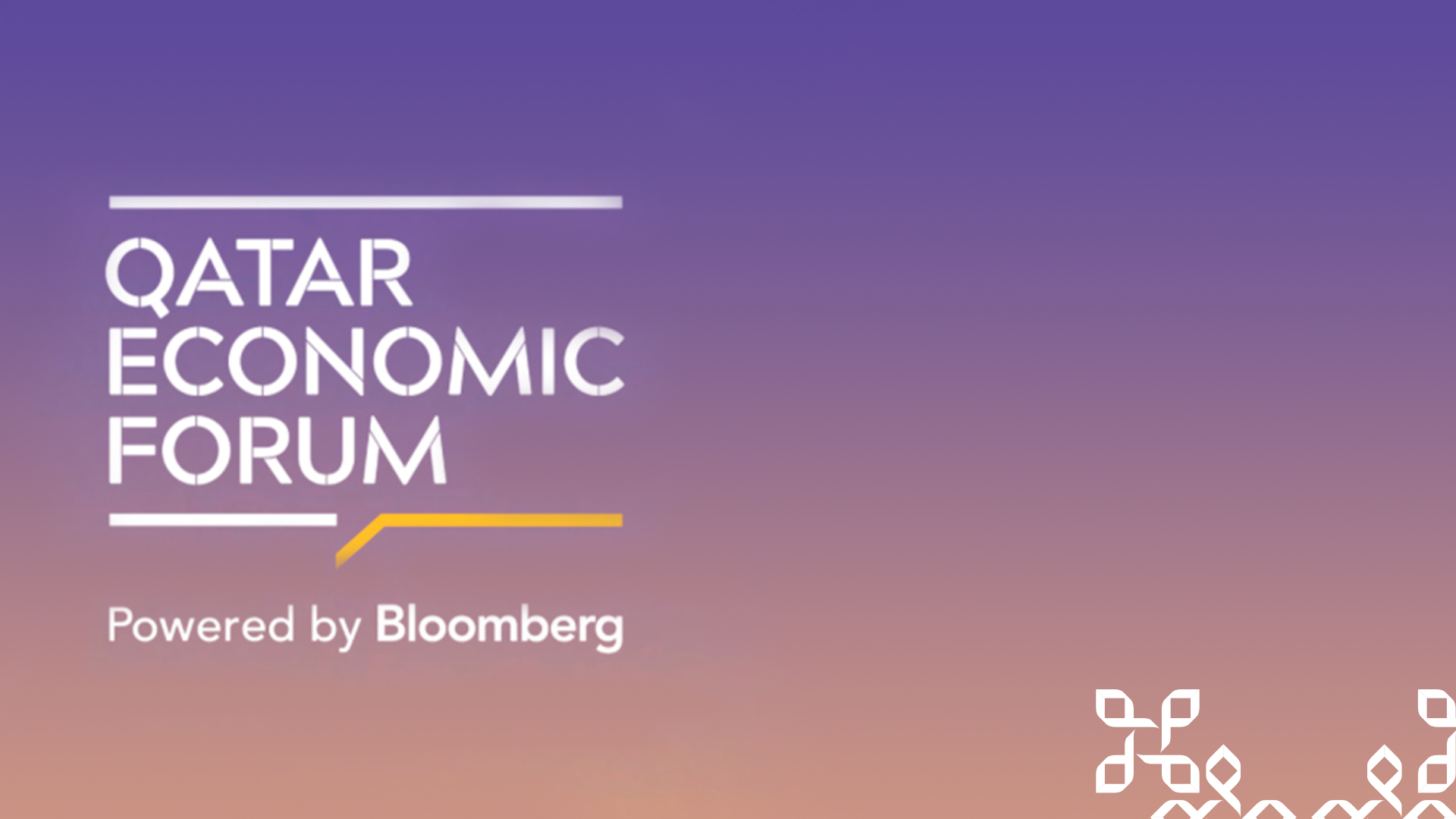 Qatar Economic Forum Powered by Bloomberg