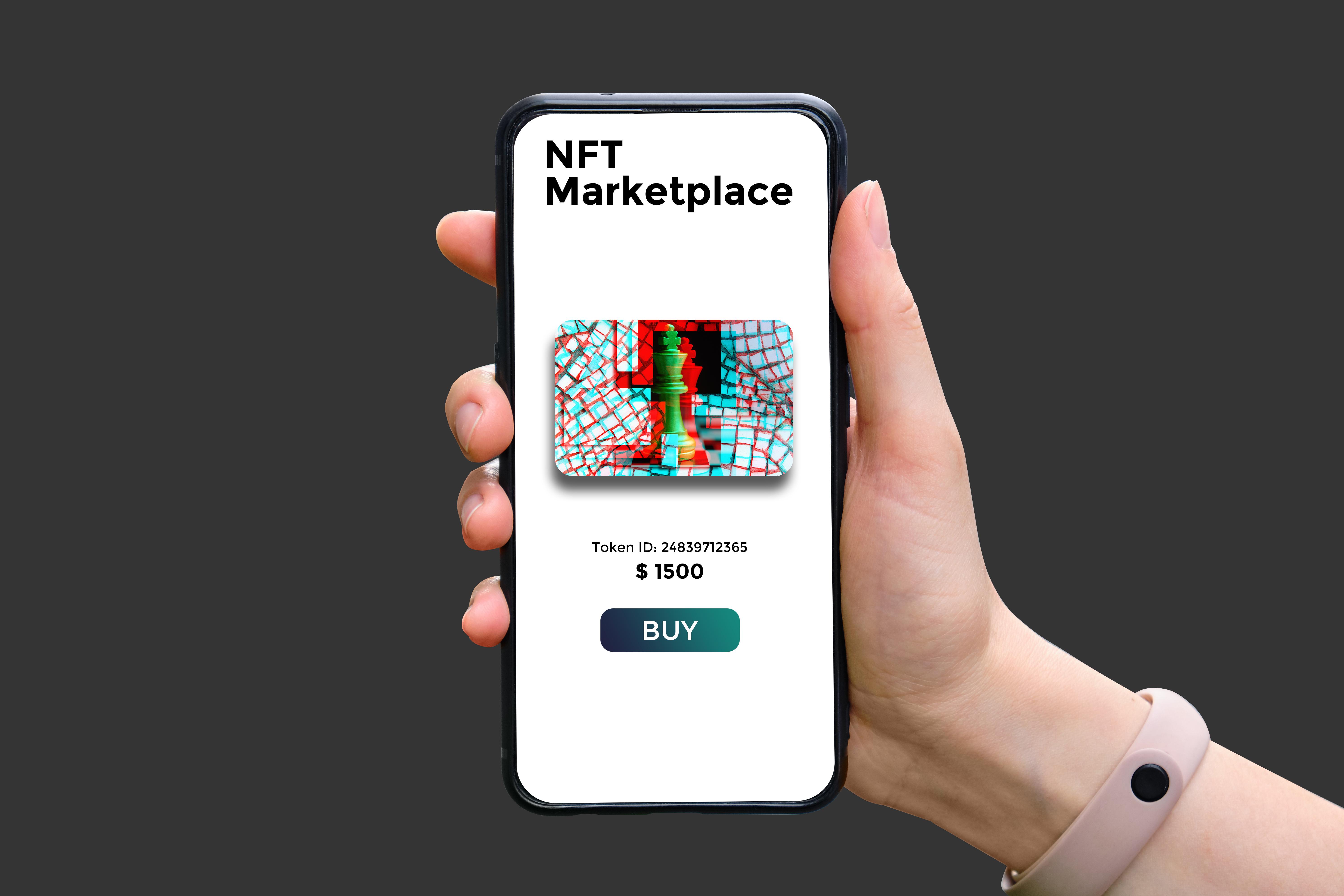 Representation of NFT Marketplace
